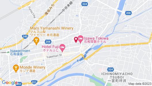 Hotel Kimiyoshi Map