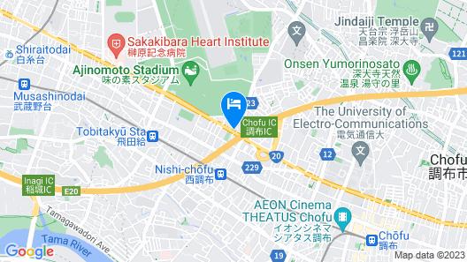 TOKYO JAILHOUSE Map