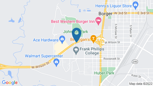 Holiday Inn Express & Suites Borger, an IHG Hotel Map