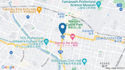 Dormy Inn Kofu Marunouchi Map