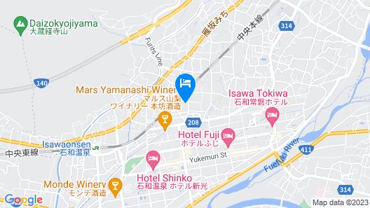 Kasugai View Hotel Map