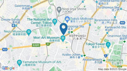 ACT HOTEL ROPPONGI Map