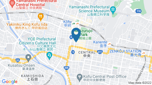 HOTEL DANROKAN Map