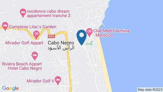 Résidence Mirador Golf Cabo Negro Map
