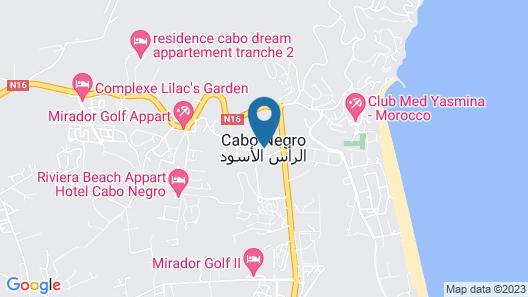 Villa luxe cabo negro Map
