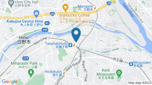 Takahata Apartment 107 Map