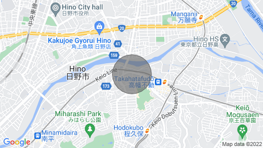 Takahata Apartment 101 Map