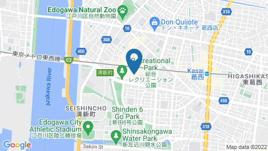 Best Western Tokyo Nishikasai Map