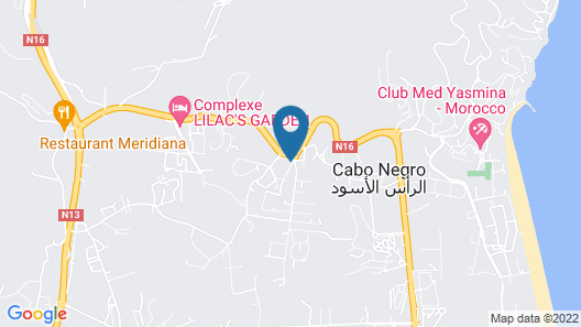 Mirador Golf Apart-hotel Map