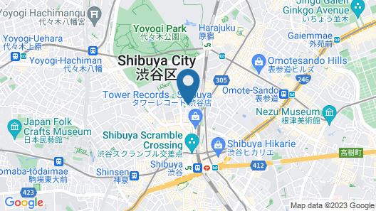 HOTEL EMIT SHIBUYA Map