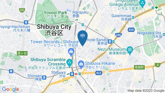 Trunk (Hotel) Map