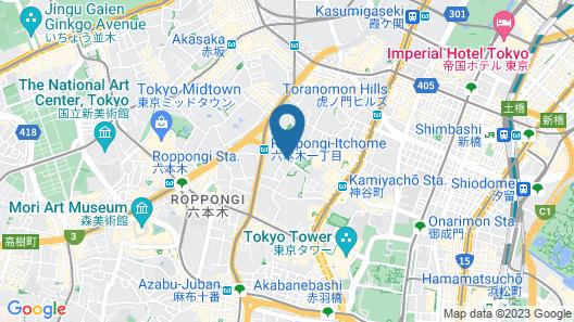 Expedia Ryokan Map