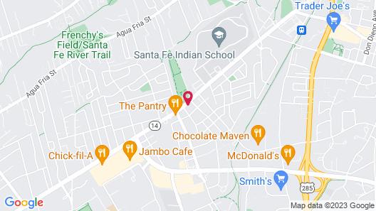Cottonwood Court Motel Map