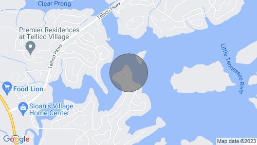 Amazing! Tellico Village Lake House With Dock! Map