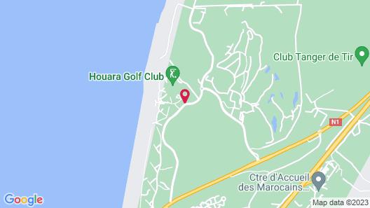 Hilton Tangier Al Houara Resort & Spa Map