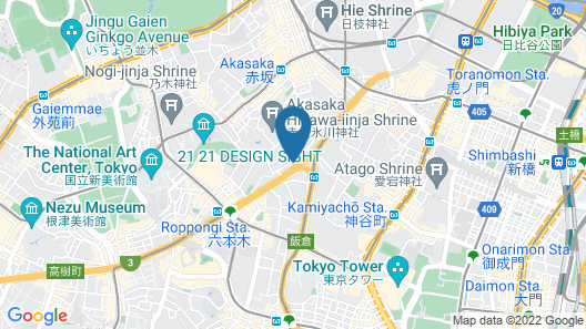 APA HOTEL Roppongi Six Map
