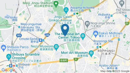 Hotel Adonis Map