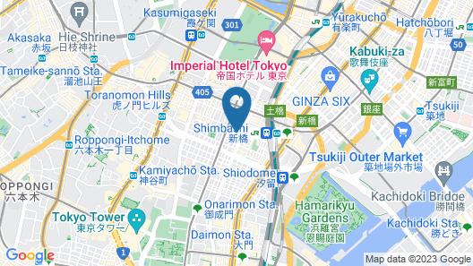 HOTEL UNIZO Tokyo Shimbashi Map