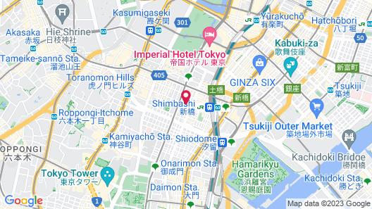 Unizo INN Tokyo Asakusa Map