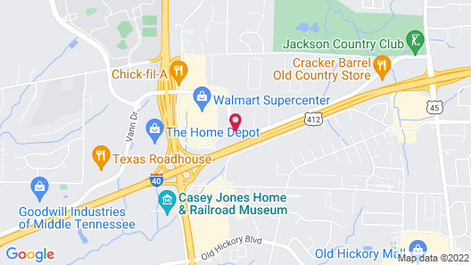 Country Inn & Suites by Radisson, Jackson, TN Map