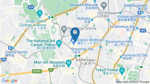 The Ritz-Carlton, Tokyo Map