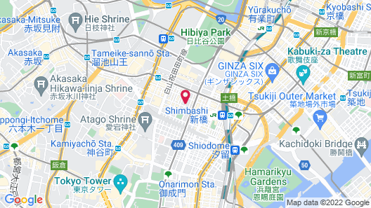 the b shimbashi Map
