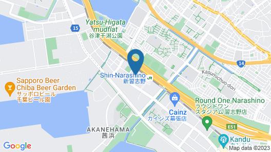 Tosei Hotel and Seminar Makuhari Map