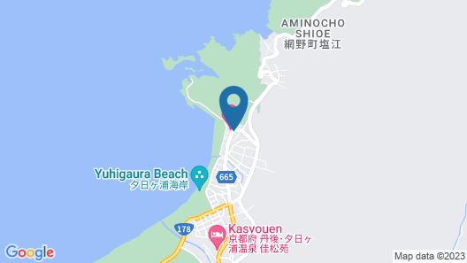 Japanese-style hotel Yuuhigaura Map
