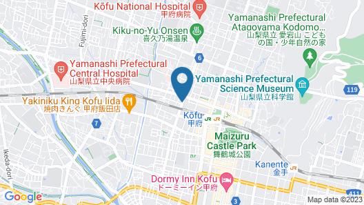 Kofu Prince Hotel Asahikan Map
