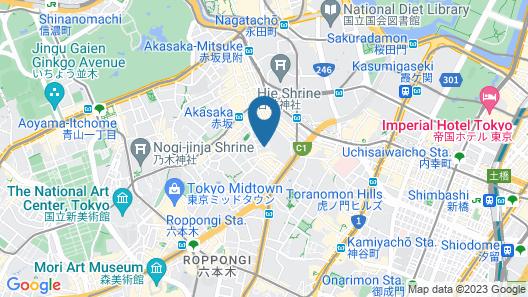 HOTEL MYSTAYS PREMIER Akasaka Map