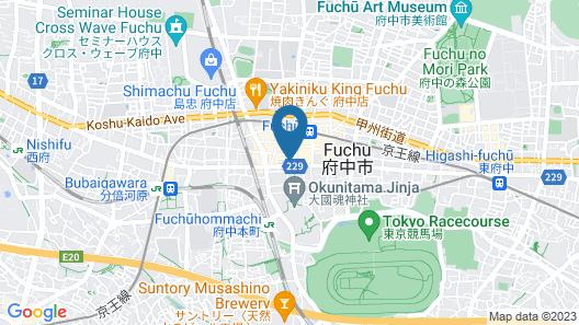 Hotel Matsumotoya 1725 Map