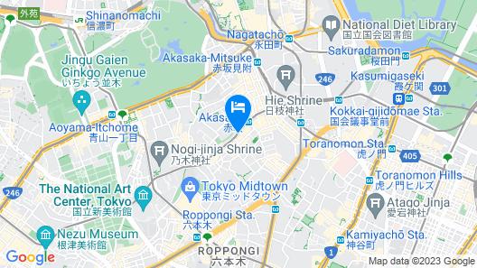 Sotetsu Fresa Inn Tokyo-Akasaka Map