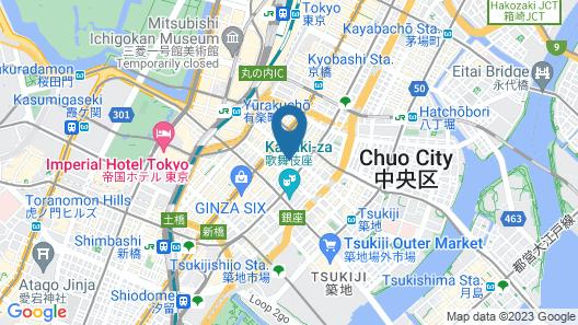Sotetsu Fresa Inn Ginza-Sanchome Map