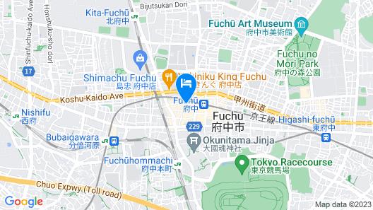 Fuchu Urban Hotel Annex Map