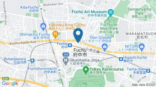 Fuchu Urban Hotel Main Map
