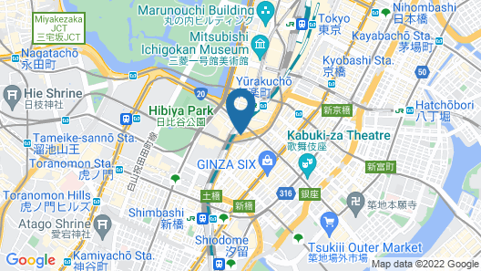 THE GATE HOTEL TOKYO by HULIC Map
