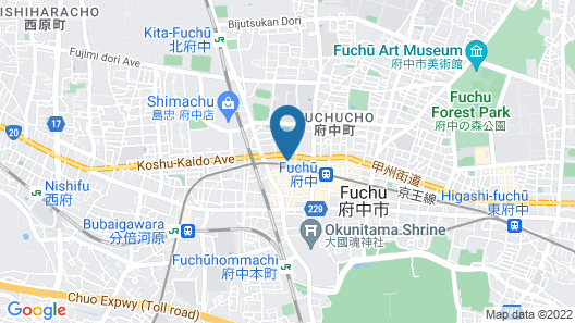 Hotel Chuokan Map