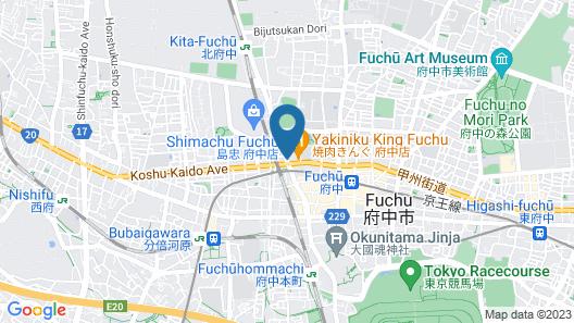 HOTEL LiVEMAX Fuchu-Annex Map