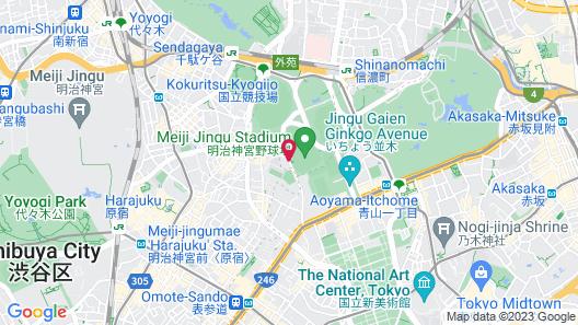 Nippon Seinenkan Hotel Map