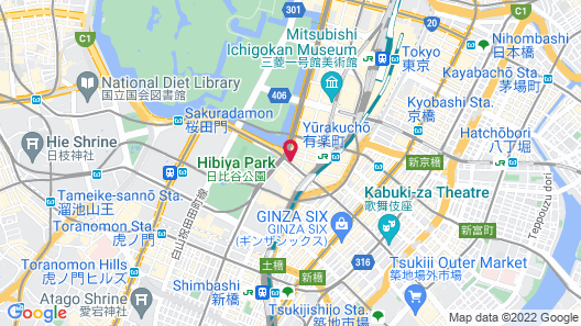 The Peninsula Tokyo Map