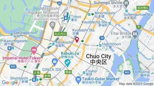 APA Hotel Ginza-Kyobashi Map