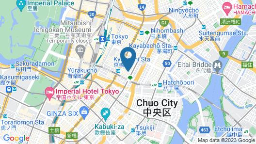 Sotetsu Fresa Inn Tokyo Kyobashi Map