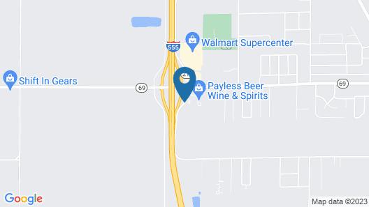 Days Inn by Wyndham Trumann AR Map