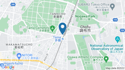 Business Inn Grandeur Fuchu Map