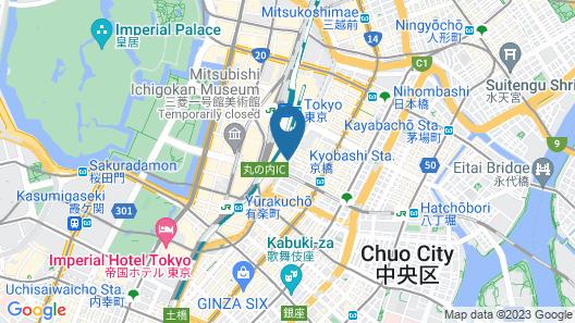 Four Seasons Hotel Tokyo at Marunouchi Map