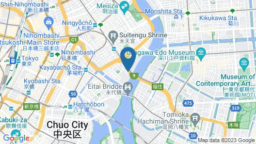 HOTEL LiVEMAX Nihombashi Hakozaki Map