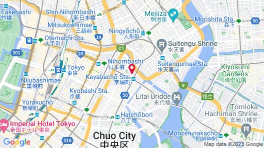 Sotetsu Fresa Inn Nihombashi-Kayabacho Map