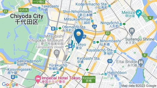 Shangri-La Hotel, Tokyo Map