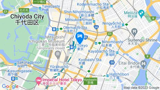 Shangri-La Tokyo Map