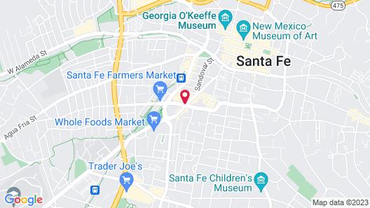 Hotel Santa Fe Map